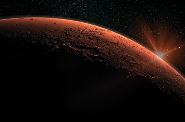 mars magnetic field